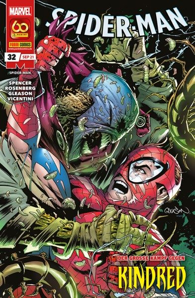 Spider-Man 32 Cover