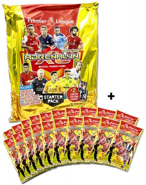 Panini Premier League Adrenalyn XL 2019/20 Kollektion – Starter-Bundle 2
