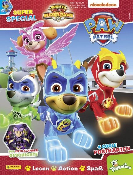 PAW Patrol Super Special Magazin 01/20 Cover