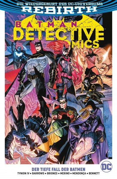 Batman - Detective Comics Paperback 6: Der Tiefe Fall der Batmen Cover