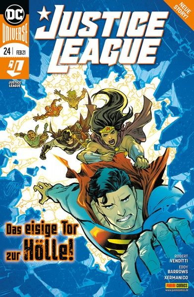 Justice League 24 Cover