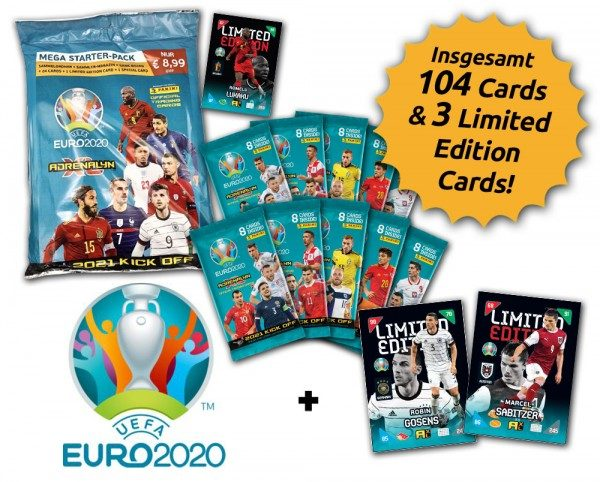 UEFA EURO 2020™ Adrenalyn XL™ 2021 Kick Off – Starter-Bundle