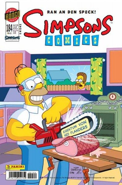 Simpsons Comics 184