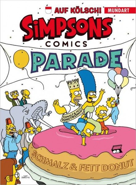 Simpsons Comics auf Kölsch Cover