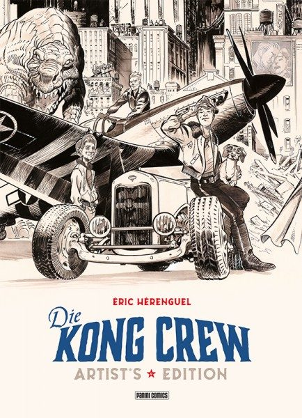 Die Kong Crew - Artist Edition Cover