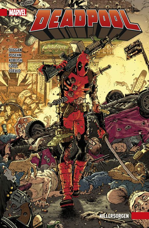 Deadpool Paperback 2 - Killersorgen