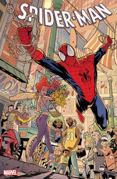 Spider-Man 14 Marvel-Tag Variant Cover