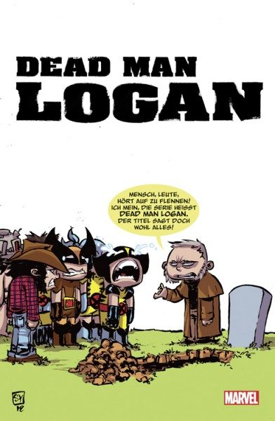 Dead Man Logan 1 Variant Cover