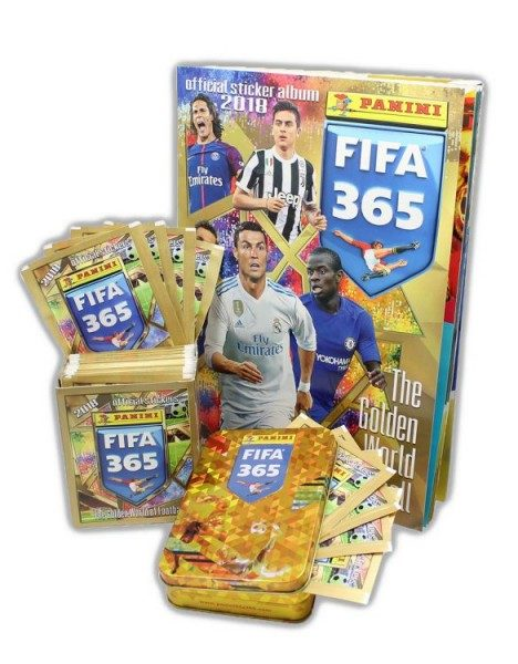 Panini FIFA 365 2018 Stickerkollektion - Bundle 2