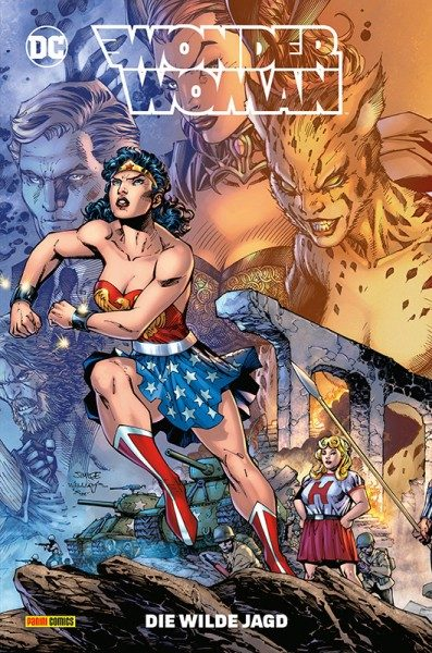 Wonder Woman 13 - Die wilde Jagd Cover