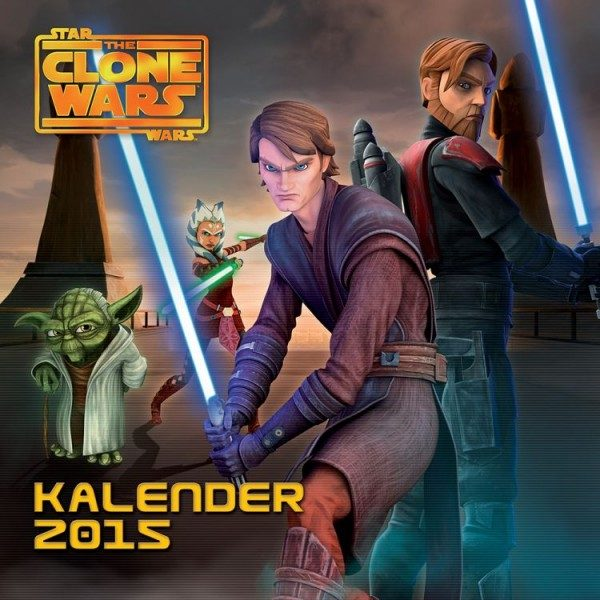 Star Wars - The Clone Wars - Wandkalender (2015)