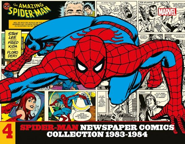 Spider-Man Newspaper Comics Collection 4 Cover