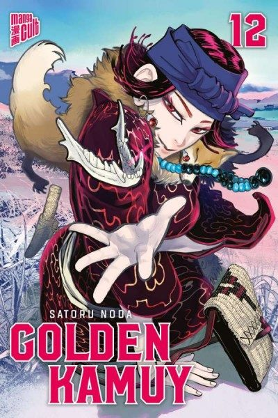 Golden Kamuy 12 Cover