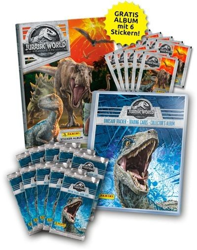 Jurassic World Movie - Sammelbundle 2