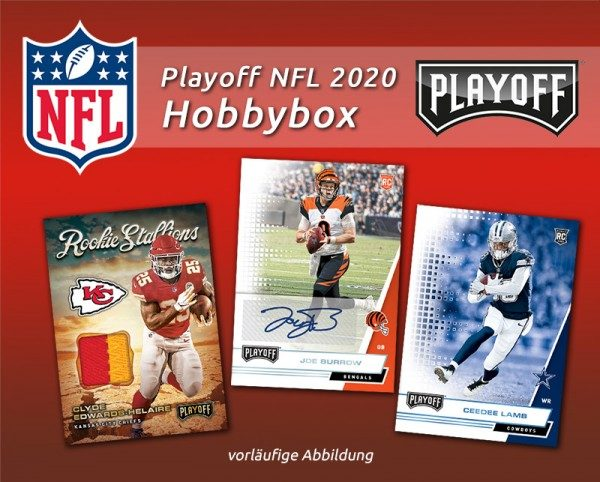 NFL 2020 Playoff Football Trading Cards - Hobbybox