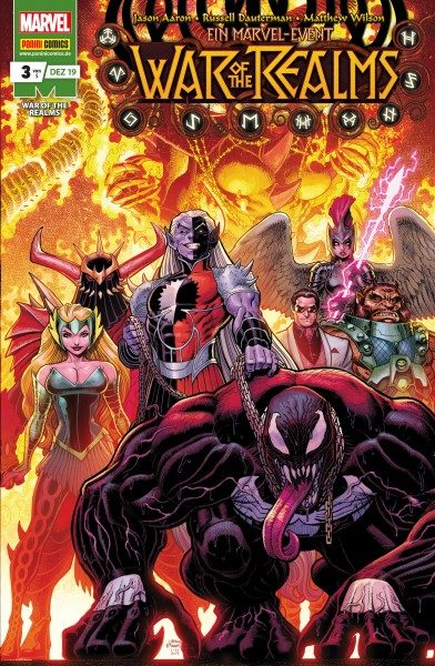 War of the Realms 3 Cover