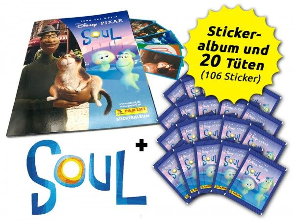 Soul Movie Stickerkollektion - Sammelbundle mit 20 Tüten