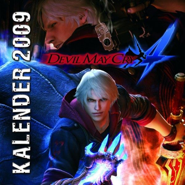 Devil May Cry 4 - Wandkalender (2009)