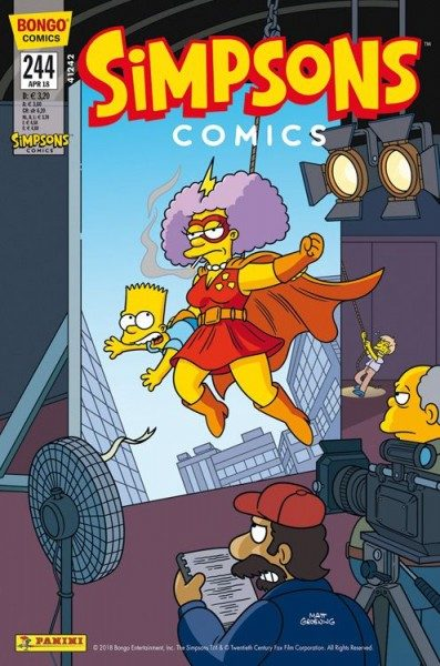 Simpsons Comics 244