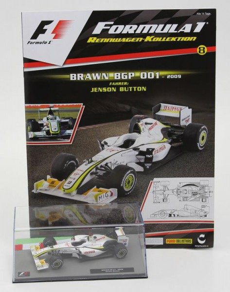 Formula 1 Rennwagen-Kollektion 8 - Jenson Button (Brawn BGP 001)