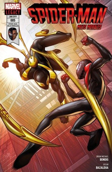 Spider-Man - Miles Morales 5 - Iron Spiders Sinistre Sechs Cover