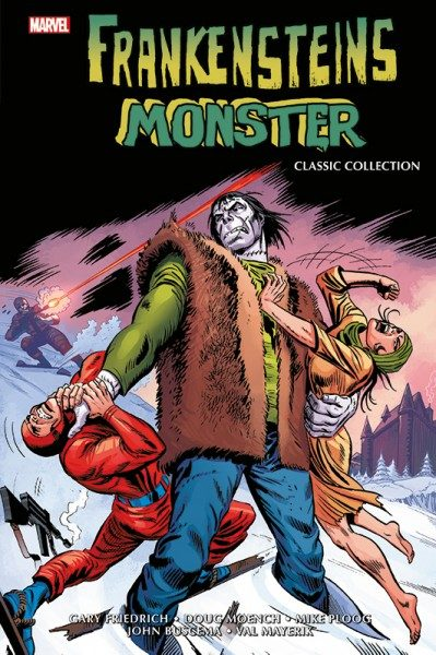 Frankensteins Monster - Classic Collection Cover