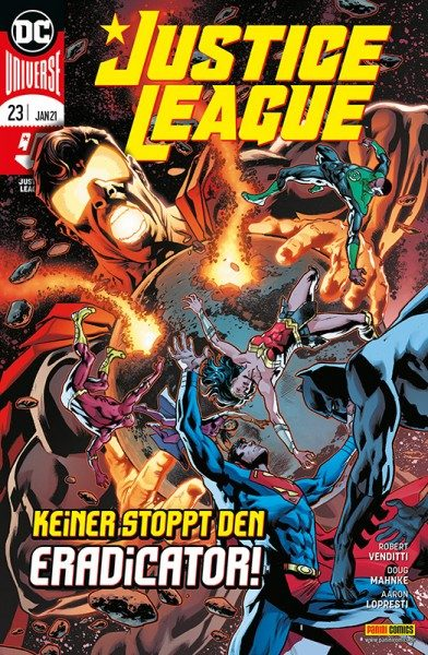 Justice League 23 Cover