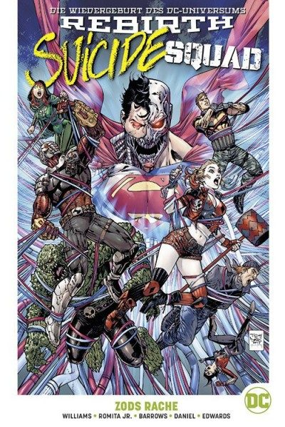 Suicide Squad 2 Paperback - Zods Rache Hardcover