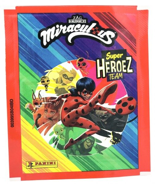 Miraculous Super Heroez Team - Sticker & Cards - Tüte Front