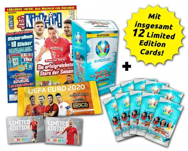 UEFA EURO 2020 Adrenalyn XL - Magazin-Bundles - Just-Kick-It Mega-EM-Bundle