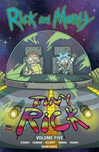 Rick and Morty 5 Cover