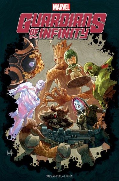 Guardians of Infinity 1 Variant