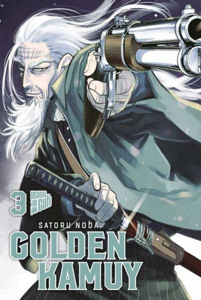Golden Kamuy 3 Cover
