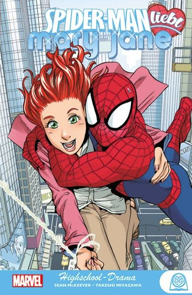 Spider-Man liebt Mary Jane 1 - Highschool Drama Cover
