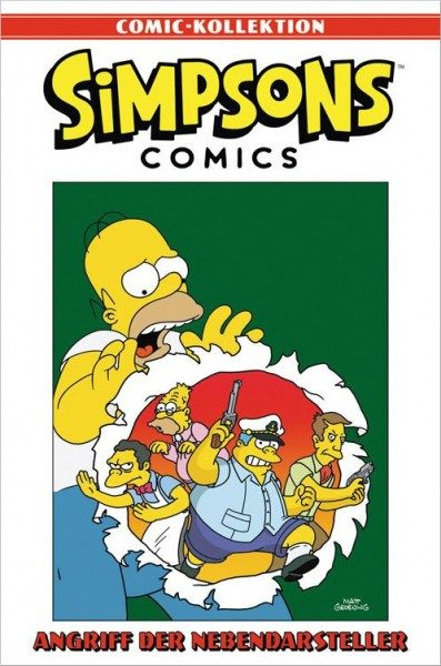 Simpsons Comic-Kollektion 14: Angriff der Nebendarsteller Cover