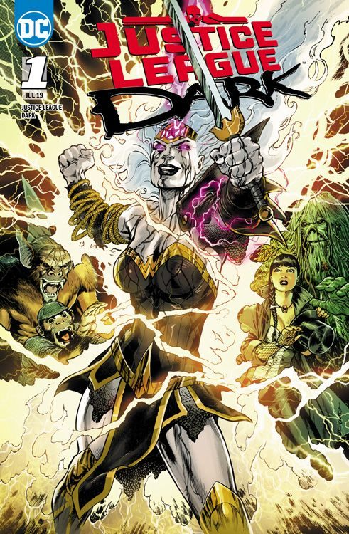 Justice League Dark 1 - Hexenstunde...