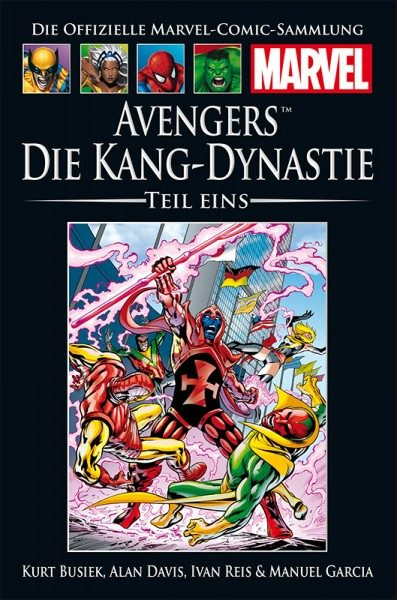 Hachette Marvel Collection 215 - Avengers: D. Kang-Dynastie 1 Cover