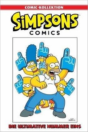 Simpsons Comic-Kollektion 1: Die ultimative Nummer Eins Cover