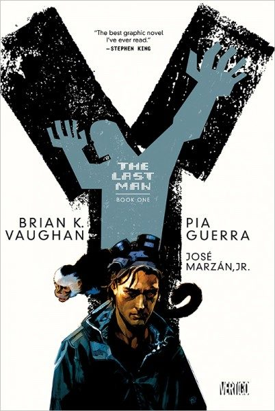 Y - The Last Man 1 (Deluxe Edition) Cover