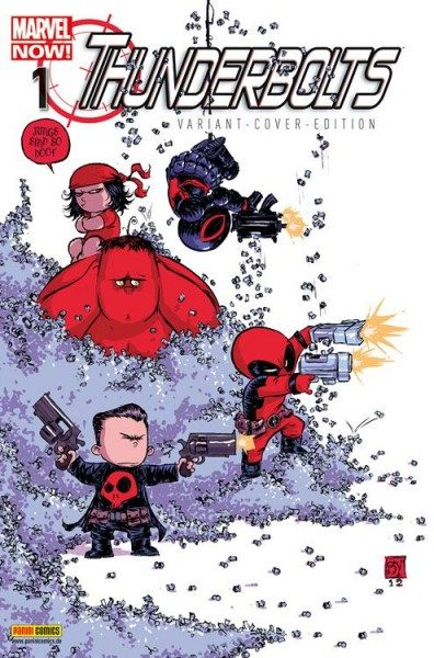 Thunderbolts 1 Marvel-Baby-Variant - Comic Action 2013