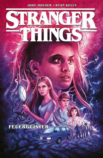 Stranger Things 3  - Feuergeister Cover