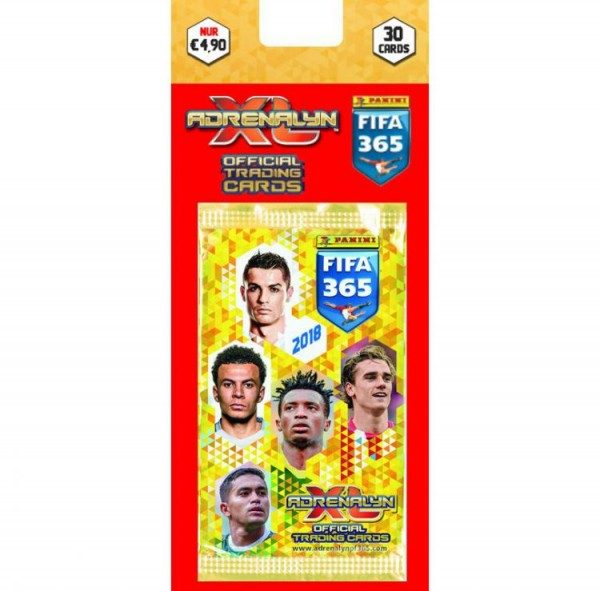 Panini FIFA 365 2018 Adrenalyn XL Trading Cards - Blister