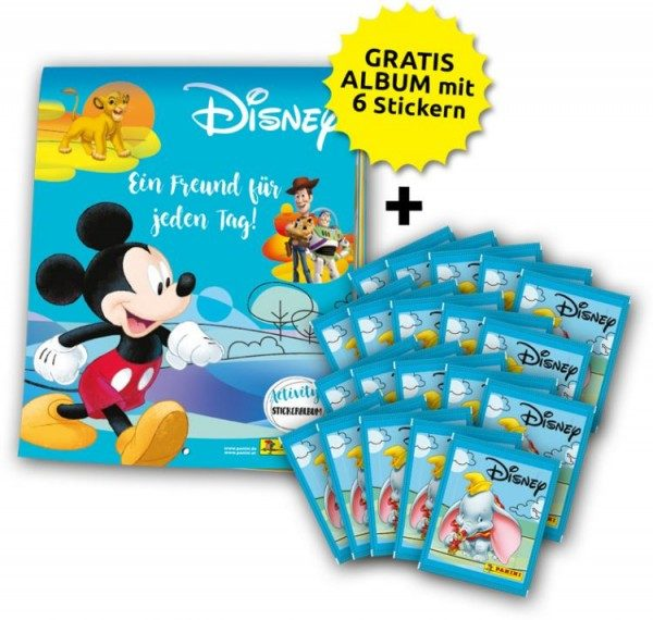Disney - Mix Stickerkollektion – Sammelbundle