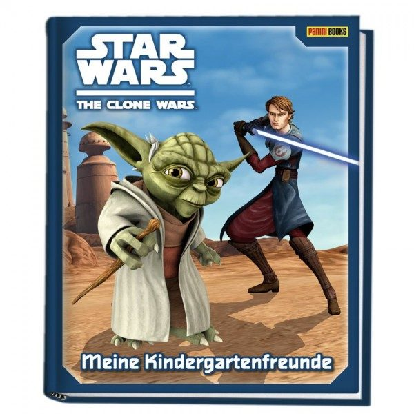 Star Wars - The Clone Wars - Kindergartenfreundebuch