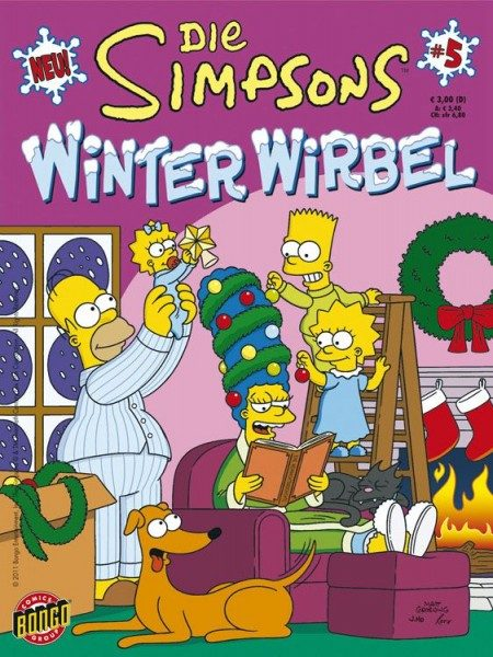 Simpsons - Winter-Wirbel 5