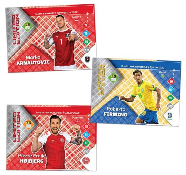 Panini FIFA Road To Worldcup 2022 - AXL - Limited Edition Starter-Set
