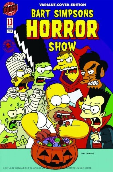 Simpsons Horror 13 Variant (Comic Action 2009)