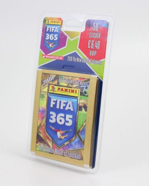 Panini FIFA 365 2018 Stickerkollektion - Blister