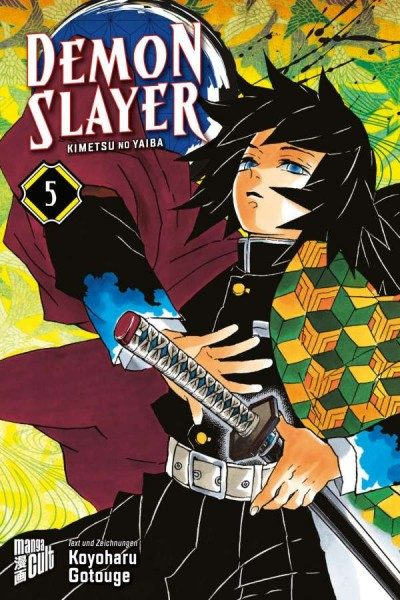 Demon Slayer: Kimetsu No Yaiba 5 Cover
