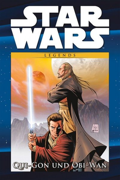 Star Wars Comic-Kollektion 113 - Qui-Gon und Obi-Wan Cover